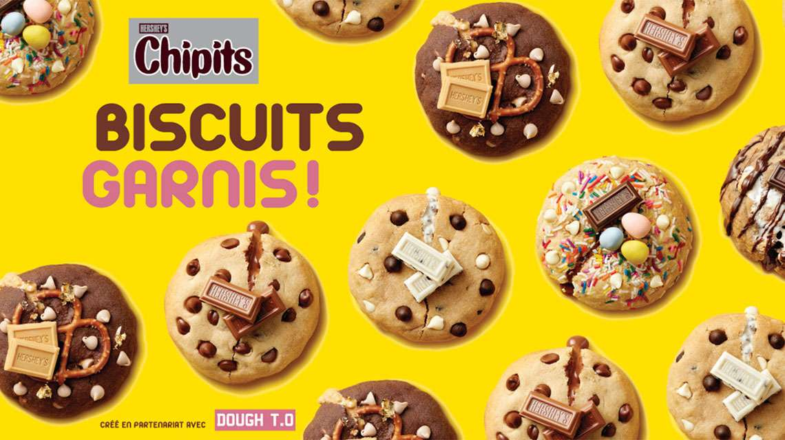 HERSHEY'S CHIPITS - Biscuits garnis!