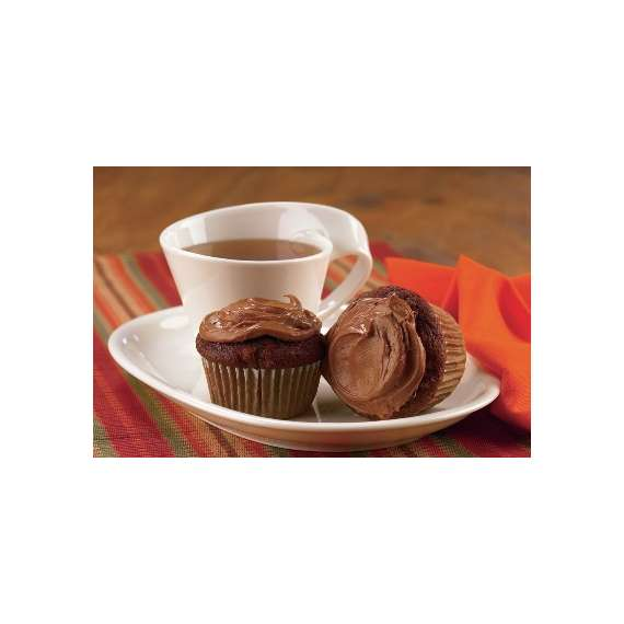 Chocolate Carrot Cupcakes with Chocolate Cream Cheese Icing Recipe